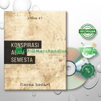 Buku Novel KONSPIRASI ALAM SEMESTA by Fiersa Besari (Free CD Album)