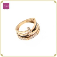 Cincin Modelll Cartier Paku Listring AD Cat Rose