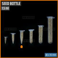 10 pcs Botol Benih Plastik / Plastic Seed Bottle - 1.5 ml