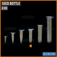10 pcs Botol Benih Plastik / Plastic Seed Bottle - 2 ml