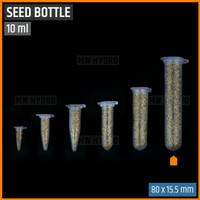 10 pcs Botol Benih Plastik / Plastic Seed Bottle - 10 ml
