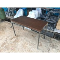 produsen furniture meja lesehan cafe,resto angkringan 100x60x75 HPL