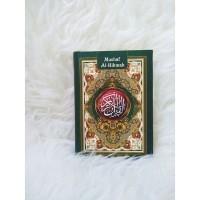 Alquran Al-Hikmah 10x15 cm Hard Cover (A6)