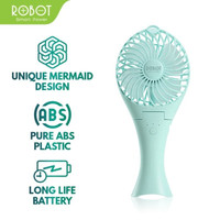 Robot kipas mini power bank RT-BF07 2000mah portable fan mini origina
