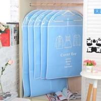 Terlaris Cloth Dust Cover / Cover Pakaian / Sarung Pakaian 1 set isi 5