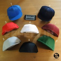 CUSTOM TOPI SNAPBACK BORDIR 3D HIGH QUALITY