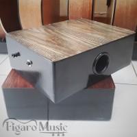 Travel Cajon / Kajon Mini / Cajon Portable Akustik With Strap Model