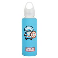 MINISO Marvel Botol Minum Tempat Tumbler Tumblr Kaca 300ml Bottle