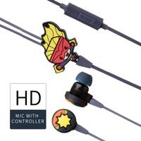 MINISO Earphone In Ear Marvel Headphone Earbud Headset Karakter Lucu