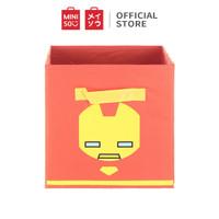 MINISO Marvel Rak Box Kain Serbaguna Storage Kain Dengan Tanpa Tutup