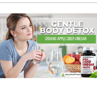 Apple Cider Vinegar Kapsul / Suplement Cuka Apel 200 Tablet USA