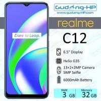 Realme C12 3/32 GB Garansi Resmi