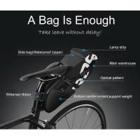Tas Sadel Sepeda Bicycle Waterproof Bag 8L Black Tas sepeda pannier