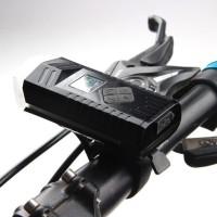 Lampu Klakson Sepeda Bike Light USB Rechargeable Waterproof