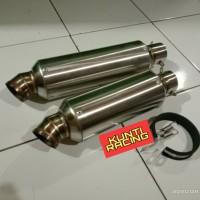 KNALPOT RACING CUSTOM WRX silencer aerox nmax vario gsx cbr r15 sonic