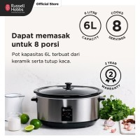 Slow Cooker 6L - Russell Hobbs