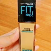 Maybelline Fit me foundation matte poreless