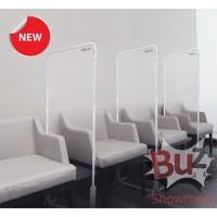 Partisi Sekat Pembatas Standing Kursi Mika Chair Divider Vinilon