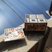 polaroid ee 100 land camera box dan manual book saja original