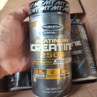 MT Muscletech platinum creatine 2500 60 servings 120 caplets