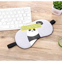 Penutup mata tidur gel/ masker penutup mata -BM09 - Panda Putih