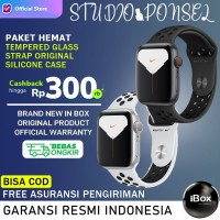 Apple Watch Series 5 Nike+ 44mm Grey Black Silver White Sport Band