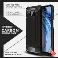 Armor Case Xiaomi Redmi Note 9 Pro Soft Softcase Hard Hardcase Casing