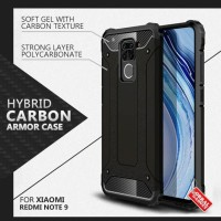 Armor Case Xiaomi Redmi Note 9 Soft & Hard Softcase Hardcase Casing