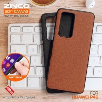 Soft Canvas Case Huawei P40 Softcase Hard Silicon Casing Cover Jelly