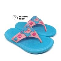 Sandal Anak Perempuan - Sendal Tahan Air V122 - Biru