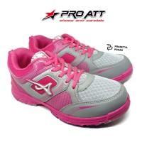 Sepatu Wanita PRO ATT Original - Sepatu Sneakers Wanita Pink and Grey