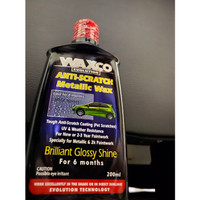 Waxco Anti Scratch Metallic Wax 200 mL