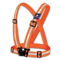 Elastic Scotlite Vest Rompi Karet Safety Proyek V Guard Orange / Oren