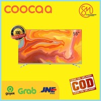 COOCAA 55 inch 4K Android 9.0 Smart LED TV- Dolby Vision- Model 55S6G