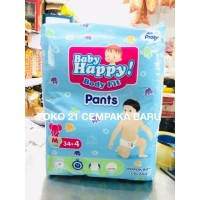 Baby Happy Body Fit Pants M 34 | Baby Happy Celana M34 Popok Murah