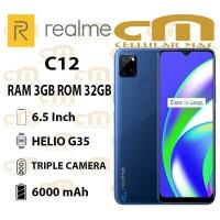 Realme C12 3/32 RAM 3GB ROM 32GB GARANSI RESMI REALME