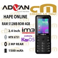 Advan Smart Feature Phone Hape Online 4G With KaiOS Indosat Only