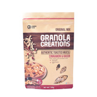 Hundred Seeds Cinnamon & Raisin Granola Creations - 200 gr