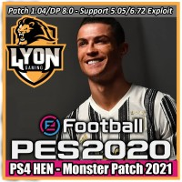 PES 2020 PS4 HEN Monster Patch 2020-2021