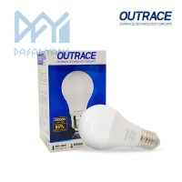 [BELI 1 GRATIS 1] Lampu LED Outrace 9 Watt 6500K Bulb