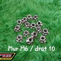 Mur steinles M6 atau drat 10