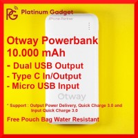 Otway Powerbank 10.000mAh Quick Charge 3.0 Power Delivery