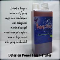Deterjen Power Fresh / Detergent Laundry 1 Liter / 1Liter / 1L