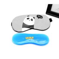 Penutup mata tidur gel/ masker penutup mata -AS73 - Panda