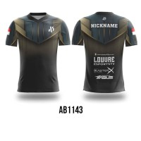 Kaos Jersey Game Esports Mobile Legend Free Fire PUBG CUSTOM AB1143