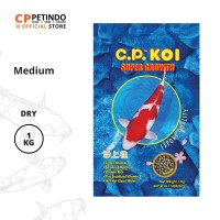 CPPETINDO CP Koi 5 mm Fish Food 1 Kg