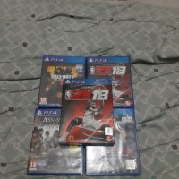 KASET PS 4 GAME BUNDLE (COD BLACK OPS 4, PES 2018, NBA 2018, AC SYNDIC