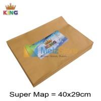 Super Map Amplop Coklat 80gsm