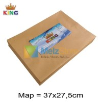 Map Amplop Coklat 80gsm