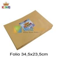 Folio Amplop Coklat 80gsm